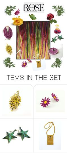 """""""Rose"""" by arlenesboutique ❤ liked on Polyvore featuring art"""