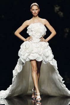 Make a Statement With #Pronovias by #ElieSaab 2013 Bridal Collection!  #weddingdress