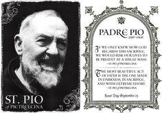 St. Padre Pio. Feast Day September 23.  YBH