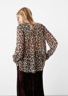 Blusa leopardo ligera