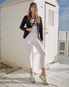 White T, T Shirt, Pants, Fashion, Summer, Breien, Supreme T Shirt, Trouser Pants, Moda