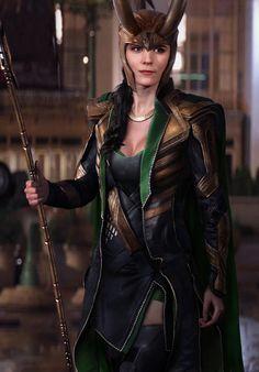 The best female Loki cosplay I've seen so far.... Actually no.... This is THE best cosplay I've seen so far!