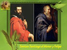 Leamos la BIBLIA: Santos Santiago el Menor y Felipe