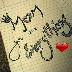Every Mom in this world Is a reflection of Wow. I Love U Mom, Dear Mom And Dad, Love My Parents Quotes, I Love My Parents, Mom And Dad Quotes, True Love Quotes, Daughter Quotes, Mother Quotes, Love U Papa