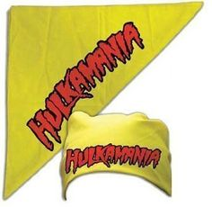 Commemorate your favorite cult classic with an awesome Hulkamania Red/Gold Bandana . Free shipping on Hulk Hogan Costume orders over $50.