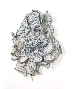 Peter Gentenaar Paper Sculpture.