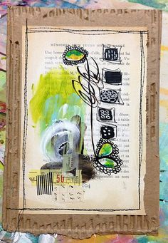 DIRECTIONAL Mixed Media Painting - SOLD | Flickr - Photo Sharing! Roben-Marie Smith