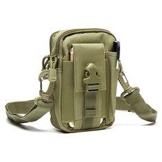 6 inches Cellphone Pocket Man Waterproof Nylon Arm Bag Waist Bag Crossbody Bag