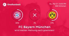 Ich habe FC Bayern München als Gewinner getippt!