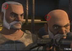Rex and Wolffee in Star Wars rebels season 2. See they have removed the chips from their heads...