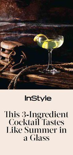3-Ingredient tiki cocktail recipe