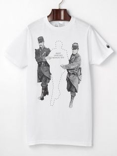 ARKA - Police Escortコットン プリント Tシャツ