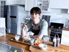 Nu Est Minhyun, Fans Cafe, Pledis Entertainment, Scene Photo, Jimin, In This Moment, Bingsu, Project, Pancake