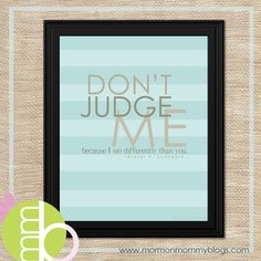 dont judge me because i sin differently than you