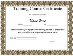 Template for Training Certificate Template for Training Certificate . Template for Training Certificate . Powerpoint Business Card Template Apocalomegaproductions Com