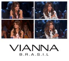 """* PAULA ABDUL WEARS VIANNA BRASIL *  Paula Abdul is an American singer-songwriter, dancer, choreographer, actress and television personality. She is currently a judge in the TV show """"So You Think You Can Dance"""", where she was captured wearing our morganite earrings and ring on last week's episode, as well as our multi-gem earrings and ring on another episode from this week."""