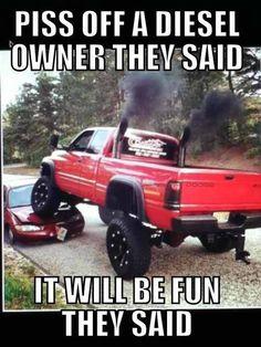 Truck humor #landmarkautoinc