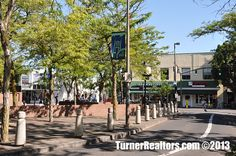 Commercial district of the St. Johns neighborhood in Portland, Oregon.