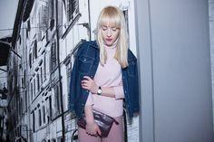 Fashion & Cafe: Kofeina and my pink   Milena Bekalarska