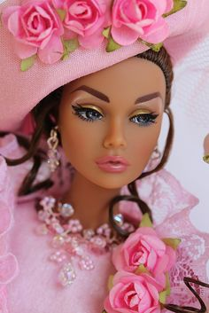 barbie, pink, and beautiful image Barbie I, Black Barbie, Barbie World, Barbie And Ken, Barbie Clothes, Barbie Style, Chic Chic, Pretty Dolls, Beautiful Dolls