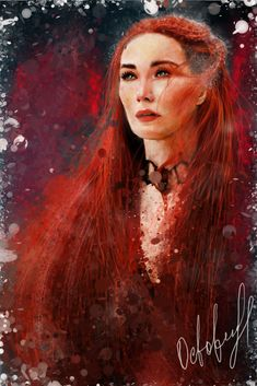 The Red Woman by Octoberrine on DeviantArt