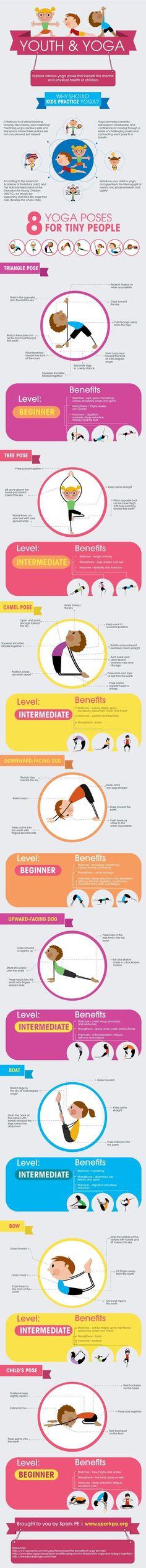 Youth & Yoga - Kids Yoga Poses #YoYoYoga-PosesandRoutines #YogaPostures,RoutinesAndPoses