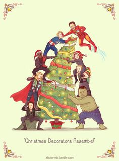 Geeky Christmas Cards!  Get it here:  http://www.redbubble.com/people/aliciamb/collections/188867-christmas or http://society6.com/AliciaMB