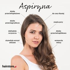 Niech Cię głowa nie boli, aspiryna Twe włosy ukoi | Blog Hairstore Hair Removal Diy, Skin Tips, Cosmetology, Healthy Tips, Hair Inspiration, Life Hacks, Beauty Hacks, Hair Makeup, Hair Beauty
