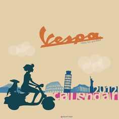 Vespa Around The World Calendar 2012 - uyenjay