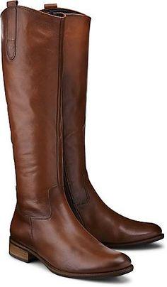 Dieser zeitlose Stiefel von Gabor verzaubert uns auf anmutige Weise aus softem Glattleder ganz klassisch in Mittelbraun. Zusätzliche Elastikbänder optimieren die Passform.