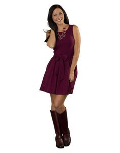 Charissa - This flirty, fun, full skirted dress creates a perfect blank palette to be dressed up or down.
