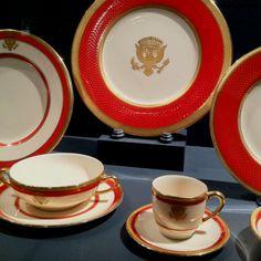 Nancy Reagan's white house china!