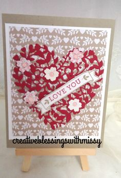 Stampin' Up!  Bloomin Love