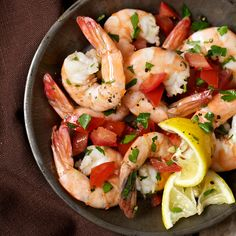 You'll want to gobble up these succulent morsels immediately, but patience will be rewarded; the shrimp taste better the longer they sit in the mari...
