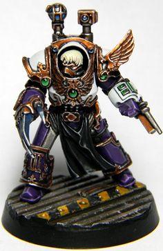 30k, Age Of Darkness, Centurion, Emperor's Children, Forge World, Legion, Primus Medicae, Space Marines, Tactical, Terminator Armor, Veteran, Warhammer 40,000