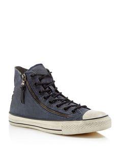 Converse John Varvatos Chuck Taylor All Star Double Zip High Top Sneakers