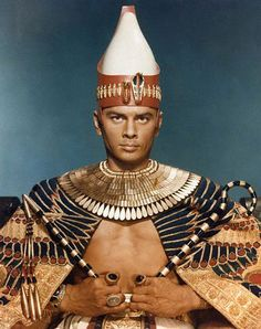 I still think he's the best looking Pharaoh ever.