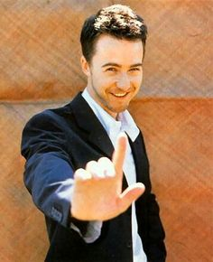 Edward Norton!! Loved him in American History X and Fight Club!
