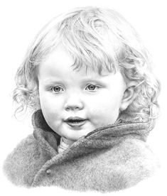 The completed drawing of Charlotte - Mike Sibley Realistic Drawings, Cool Drawings, Pencil Drawings, Pencil Art, Pencil Portrait, Portrait Art, Portraits, Drawing Lessons, Drawing Techniques