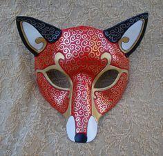 Persian Cat White Venetian Masks by merimask on DeviantArt Fox Costume, Costumes, Kitsune Mask, Wolf Mask, Yennefer Of Vengerberg, Japanese Mask, Cat Mask, Cool Masks, Venetian Masks
