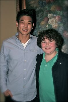 Minho and Chuck aka Ki hong lee and Blake cooper