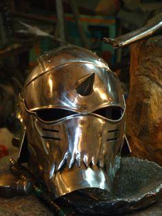 Fullmetal Alchemist helmet by vofffka.