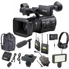 Video Surveillance Cameras, Cmos Sensor, Camcorder, Digital Camera, Sony, Charger, Remote, Kit, Tech