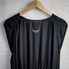 Collier géométrique collier rond collier de par ByYaeli sur Etsy