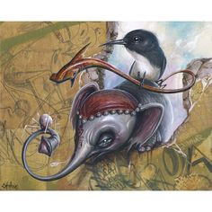 Collection of artwork by Greg Craola Simkins including paintings, illustrations, drawings, graffiti.