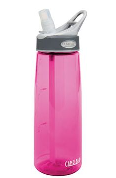I always have my Camelbak near me.  It actually makes me drink more water without realizing it!  It's perfect for drinking throughout the day or during a work out.