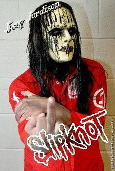 Joooeey ..#Slipknot #JoeyJordison