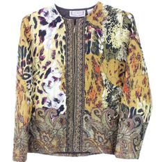 A personal favorite from my Etsy shop https://www.etsy.com/listing/462610410/vintage-boho-animal-print-jacket
