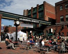 The Distillery District, Toronto Canada It has boutiques, resteraunts, in the summer In the courtyard they have entertainment and vendors. Toronto at its FINEST. Canada Eh, Toronto Canada, Cultural Events, Canada Travel, Natural Wonders, Ontario, Places Ive Been, Wander