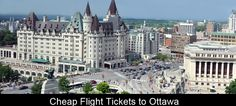 Ottawa city stands on the bank of the Ottawa river. Feel the beauty of the city by visiting at lowest airfare.